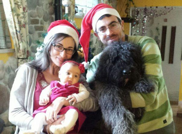 Famiglia Malservisi, Bologna con Teresa e Penny ( Wise Beard Desdemona)